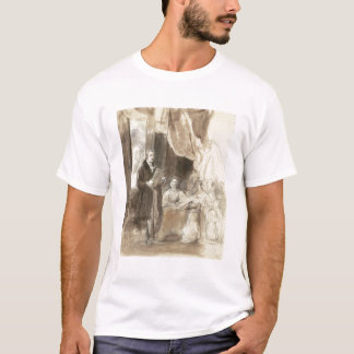 Sir Robert Peel Reading to Queen Victoria T-Shirt