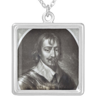 Sir Robert Rich  2nd Earl of Warwick Silver Plated Necklace