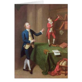 Sir Robert Walker and his son Robert Card