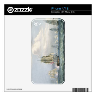 Sir Sidney Smith's (1764-1840) Squadron engaging a iPhone 4S Skins