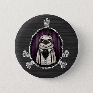_sir slothington pinback button