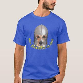Sir Sniffs-a-lot (Yellow Print) Dog Knight T-Shirt
