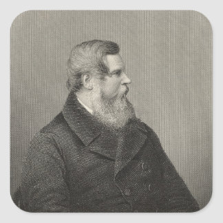 Sir Stafford Henry Northcote Square Sticker
