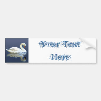 Sir Swan Bumper Sticker