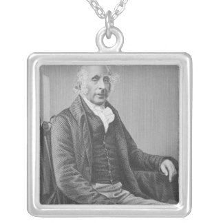Sir Tatton Sykes Square Pendant Necklace
