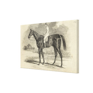 Sir Tatton Sykes', Winner of the St. Leger Canvas Print