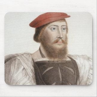 Sir Thomas Boleyn (1477-1539) engraved by Francesc Mouse Pad