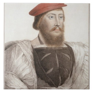 Sir Thomas Boleyn (1477-1539) grabado por Francesc Azulejo Cuadrado Grande