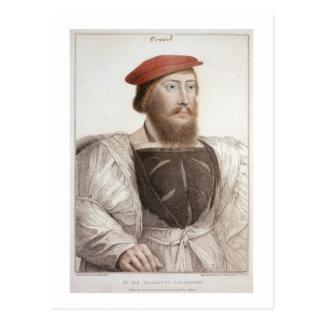 Sir Thomas Boleyn (1477-1539) grabado por Francesc Postales