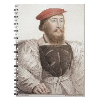 Sir Thomas Boleyn (1477-1539) grabado por Francesc Spiral Notebook