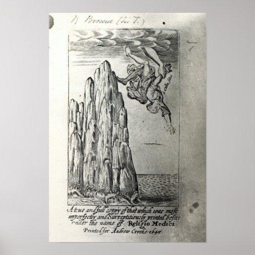 Sir Thomas Browne, 1645 Poster