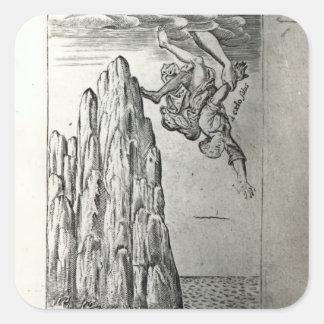 Sir Thomas Browne, 1645 Square Sticker
