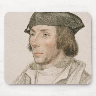 Sir Thomas Elyot (c.1490-1546) engraved by Frances Mouse Pad