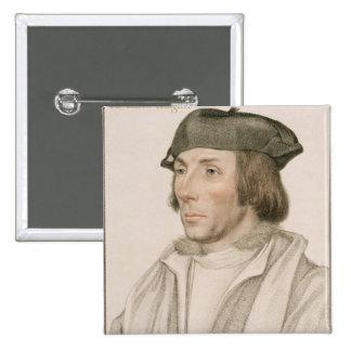 Sir Thomas Elyot (c.1490-1546) engraved by Frances Pinback Button