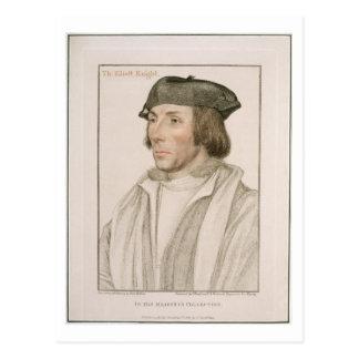 Sir Thomas Elyot (c.1490-1546) engraved by Frances Postcard