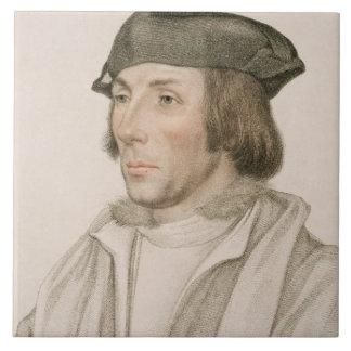 Sir Thomas Elyot (c.1490-1546) engraved by Frances Tile