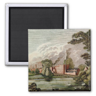 Sir Thomas Lombe's Silk Mill, Derby Magnet