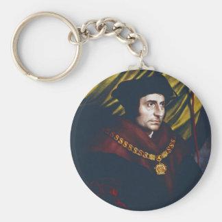 Sir Thomas More Basic Round Button Keychain