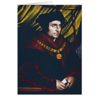 Sir Thomas More Greeting Card