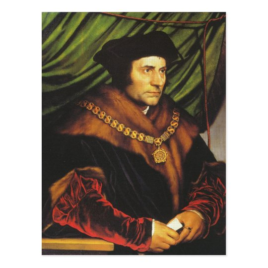 Sir Thomas More Postcard