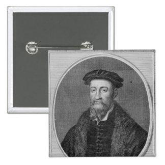 Sir Thomas Smyth, engraved by John Goldar, 1785 Pinback Button