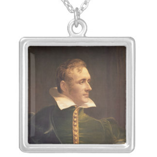 Sir Thomas Stamford Raffles Silver Plated Necklace