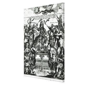 Sir Thomas Urquhart Impresión En Lienzo