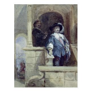 Sir Thomas Wentworth  and John Postcard
