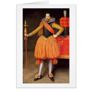 Sir Thomas Winne, c.1615 (aceite en lona) Tarjeta De Felicitación