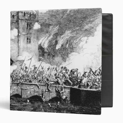 Sir Thomas Wyatt  Attacking the Byward Tower Binders