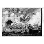 Sir Thomas Wyatt  Attacking the Byward Tower Greeting Card