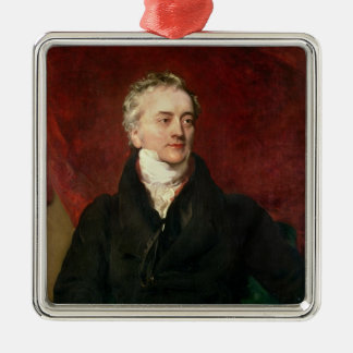 Sir Thomas Young MD, FRS Metal Ornament