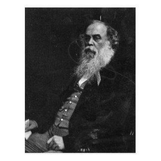 Sir Titus Salt, engraved by William Holl Postcard