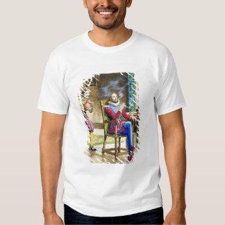 Sir Walter Raleigh (1554-1618) de 'píos en el th Camisas