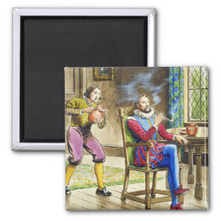 Sir Walter Raleigh (1554-1618) de 'píos en el th Imán Cuadrado