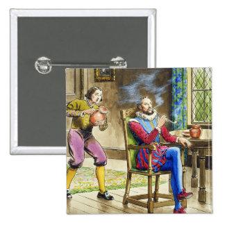 Sir Walter Raleigh (1554-1618) de 'píos en el th Pin Cuadrado