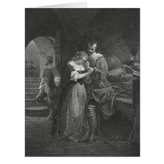 Sir Walter Raleigh 1618 Tarjeta De Felicitación Grande