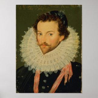 Sir Walter Raleigh 2 Póster