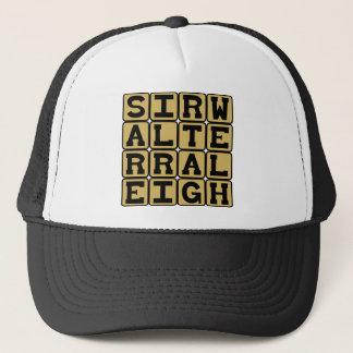 Sir Walter Raleigh, English Explorer Trucker Hat