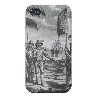 Sir Walter Raleigh iPhone 4 Funda