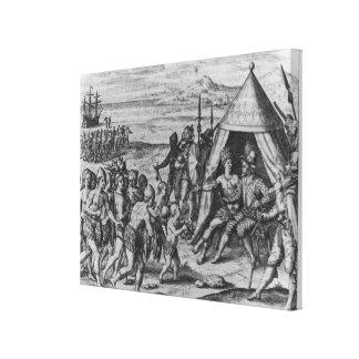 Sir Walter Raleigh Impresion De Lienzo