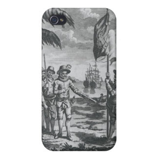 Sir Walter Raleigh Case For iPhone 4
