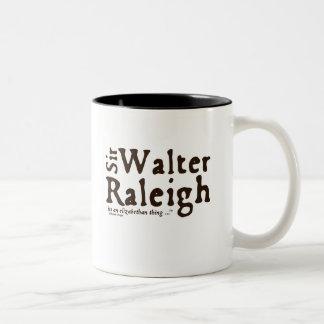 Sir Walter Raleigh: it's an Elizabethan Thing Coffee Mug