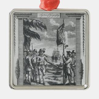 Sir Walter Raleigh Christmas Ornament