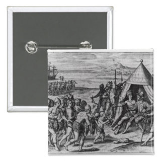 Sir Walter Raleigh Pin Cuadrado