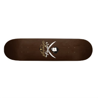 Sir Walter Raleigh Pirate Insignia Skateboard
