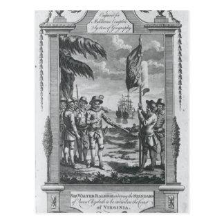 Sir Walter Raleigh Post Card