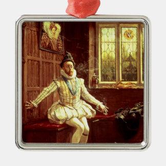 Sir Walter Raleigh s First Smoke Christmas Ornament