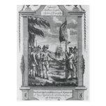 Sir Walter Raleigh Tarjeta Postal