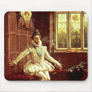 Sir Walter Raleigh's  First Smoke Mouse Pad